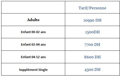 Tarifs Voyage Cote d'azure - France sud avec Very Morocco